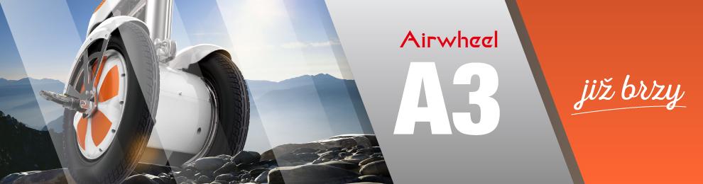 Airwheel A3 již brzy v prodeji