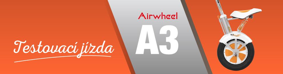Airwheel A3 – testovací jízda