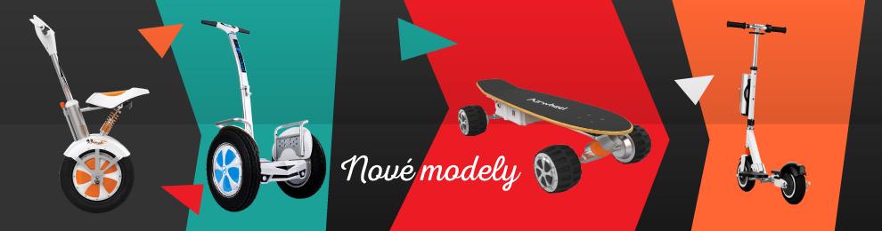 Nejnovější Airwheel modely skladem