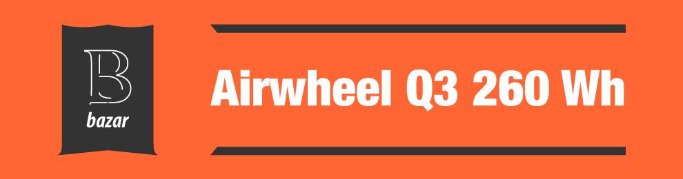 Airwheel Q3 260 Wh na prodej v bazaru