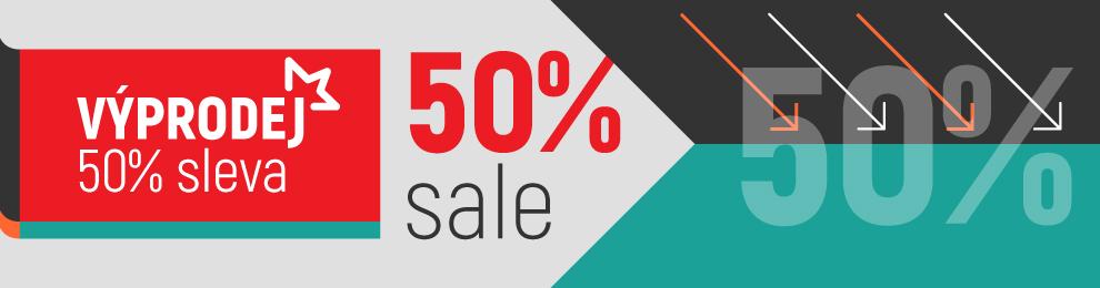 Výprodej – 50% sleva na vše